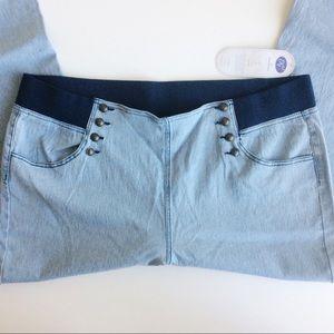 DG2 Diane Gilman Sailor Blue Jeans NWTS Size 3X